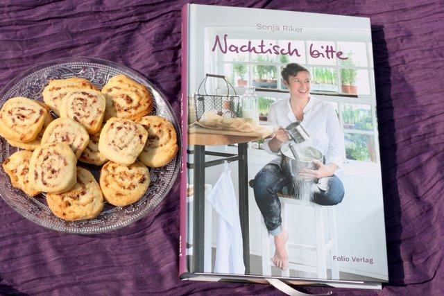 Nachtisch bitte, Sonja Riker, Cranberrie-Schnecken