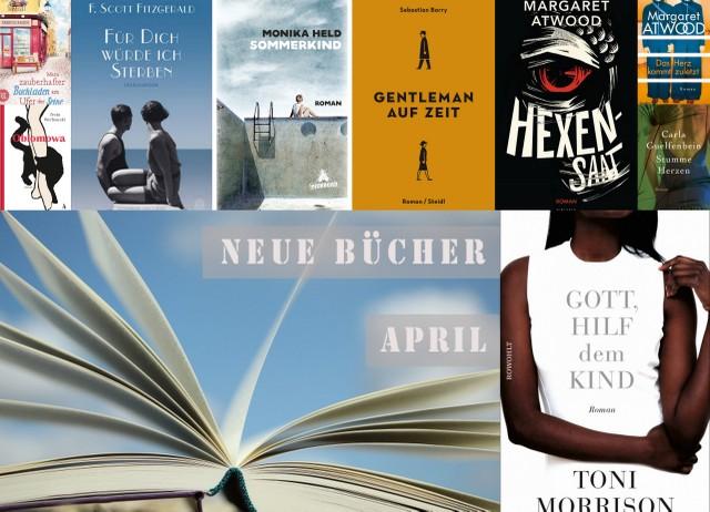Neuerscheinungen deutscher Buchmarkt April 2017