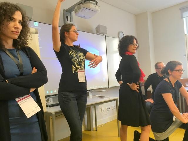 impro-Theater beim Literatur-Barcamp in Bonn 2017