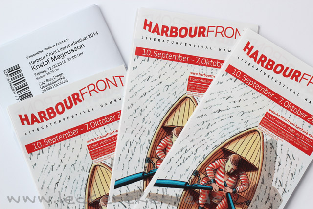 Magnusson beim Harbour Front Festival