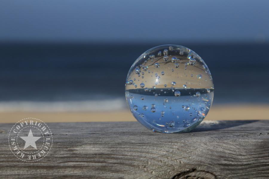 Sylt-strand-glaskugel