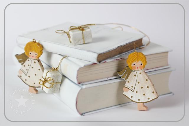Buch-Engel-Rahmen