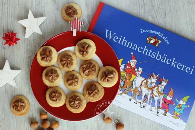 Zwergenbuch-Nougat-Kekse