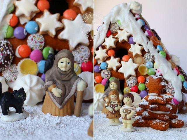 Hexe Haensel Gretel Lebkuchenhaus Hexenhaus Maerchen Weihnachten leckerekekse backen