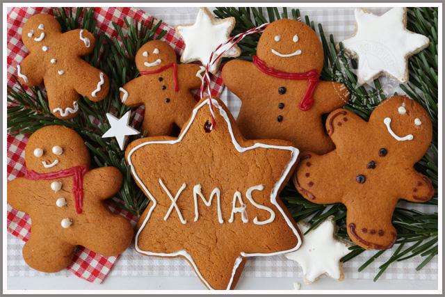 Lebkuchenmann Lebkuchenstern xmas Weihnachten
