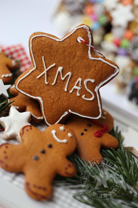 Lebkuchenstern, Lebkuchenmann, xmas Weihnachten