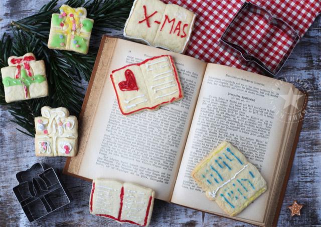 buch geschenk kekse ausstechkekse xmas weihnachten