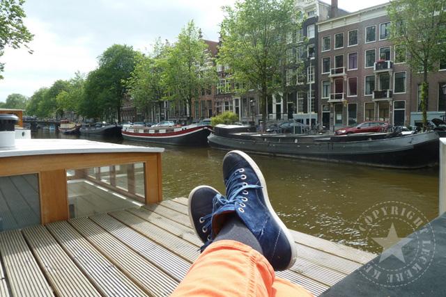 Tipp für Amsterdam: Wohnen auf dem Hausboot
