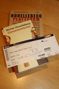 Michel Houellebecq: Unterwerfung, Lesung