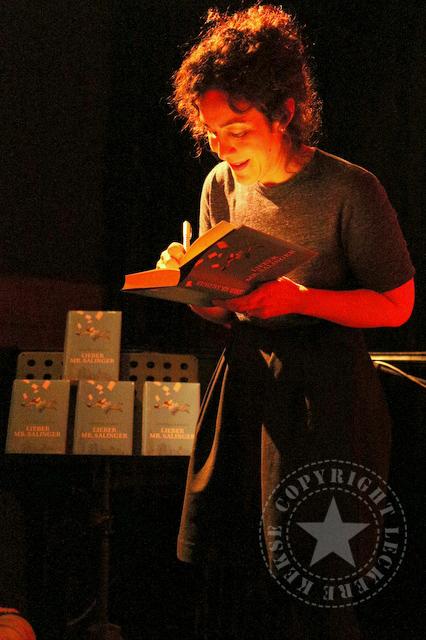 Joanna Rakoff Lesung Leipzig leckerekekse-blog