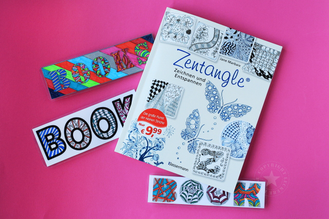 Happy Birthday Zentangle Muster Schablone leckererkekse-blog