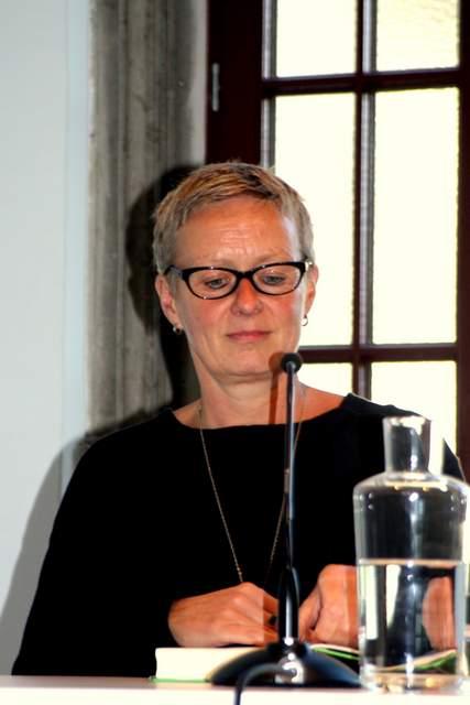 heidrun Grote, Meg Wolitzer, Lesung, Literaturhaus