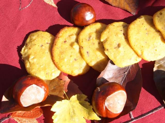 Herbst Kekse Kürbis Backen