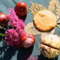 Kekse Kastanien Kürbis Herbst