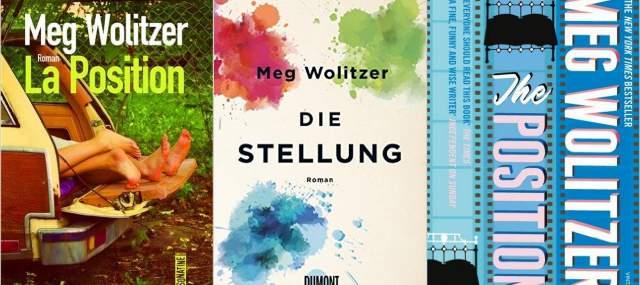 Meg Wolitzer, Cover, Lesung