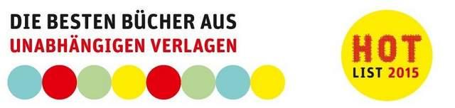 preis unabhängiger Verlage Hotlist 2015