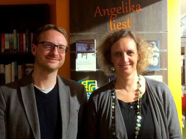 Lesung Frank O. Rudkoffsky Dezemberfieber Angelikas Büchergarten Duotincta Verlag