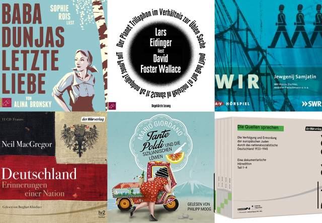 Detuscher Hörbuchpreis Gewinner 2016