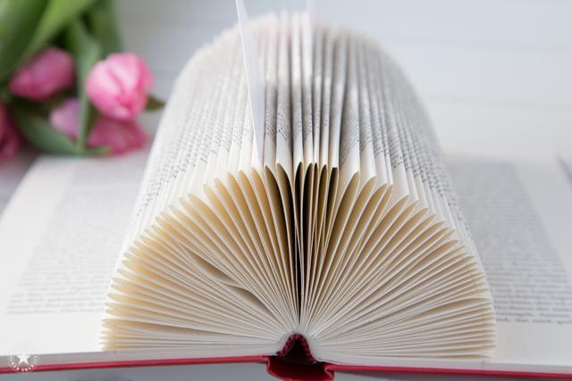 Basteln mit alten Büchern