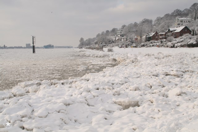Elbe im Winter