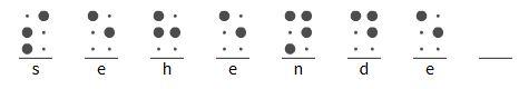 sehende Braille