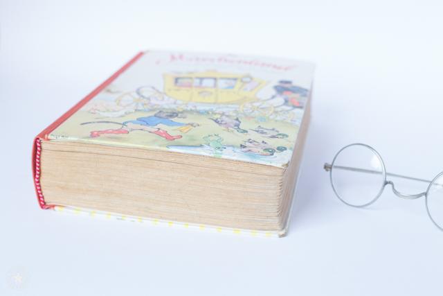 Altes Buch restauriert