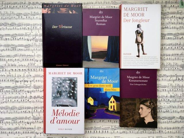 Margriet de Moor, Bücher