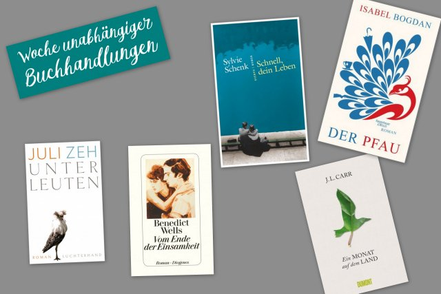 WUB, Woche unabhängiger Buchhandlungen, Shortlist Lieblingsbuch