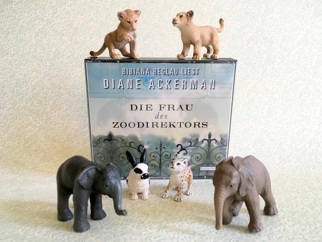 Die Frau des Zoodirektors von Diane Ackerman, Rezension des Hörbuchs aus dem Hörverlag