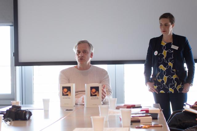 Chris Kraus auf der Leipziger Buchmesse