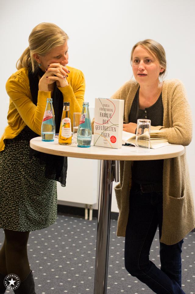 Paula Fürstenberg auf der Frankfurter Buchmesse