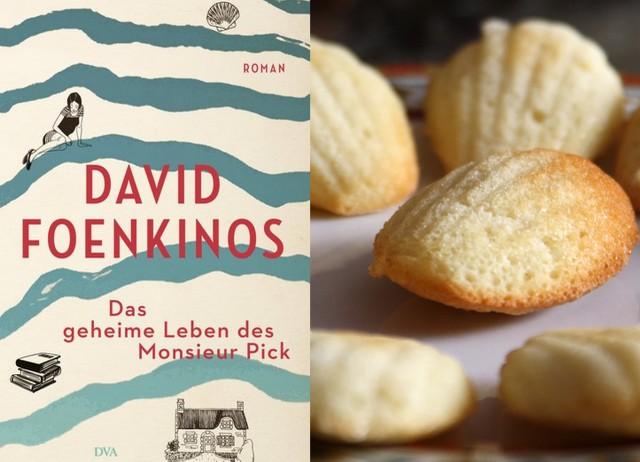 Keks zum Buch: Madeleines passen zu Das geheime Leben des Monsieur Pick von David Foenkinos