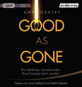 Amy Gentry: Good as Gone, Hörbuchfassung