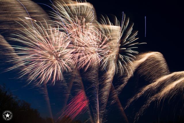 ein Feuerwerk fotografieren