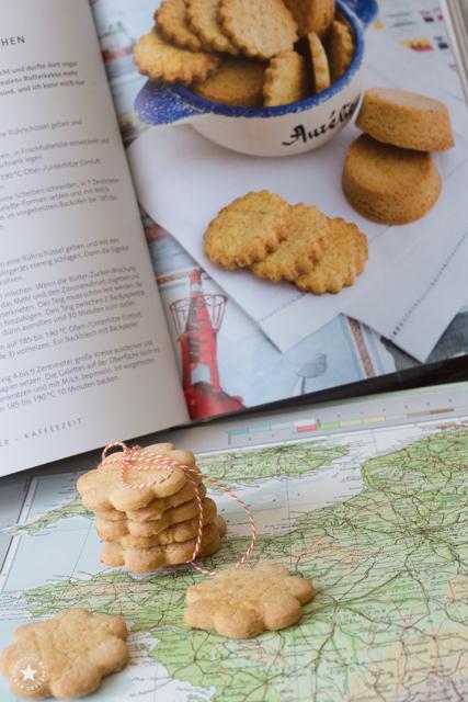 """Französische Butterkekse aus dem Buch """"Französch backen"""""""