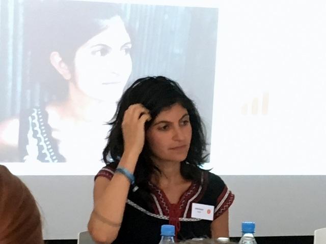 Shida Bazyar auf der LBC17