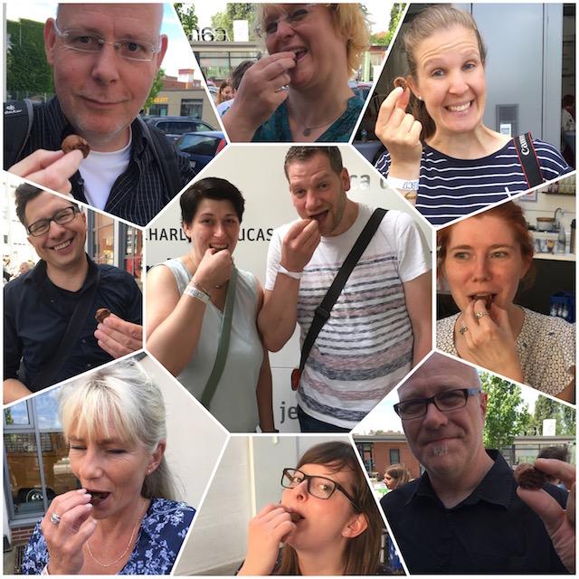 Blogger probieren leckere Kekse