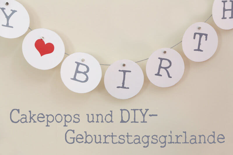 DIY-Geburtstagsgirlande