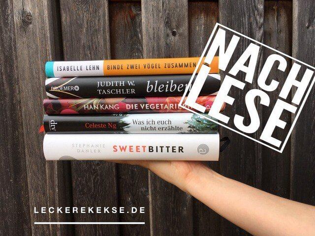 Nachlese Kurzrezensionen, Bücher weiblicher Autorinnen