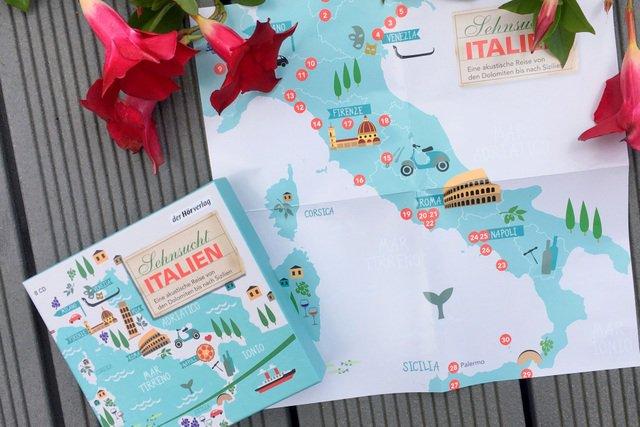 Sehnsucht Italien, Hörbuch Rezension
