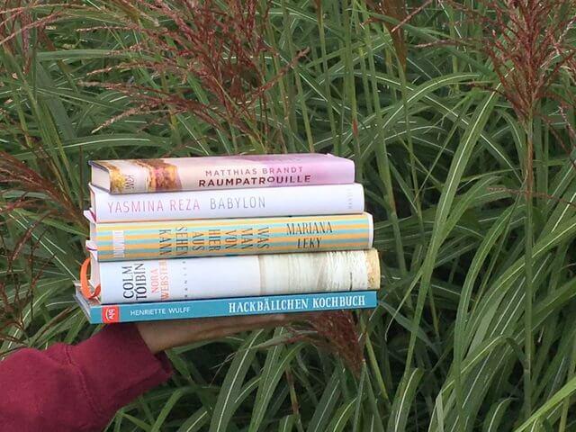Kurzrezensionen von fünf Wunschbüchern