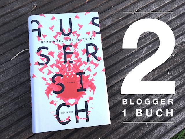 2 Blogger lesen ein Buch und reden darüber
