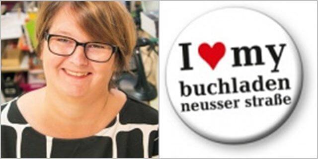 Dorothee Junck, Inhaberin des Buchladen Nippes