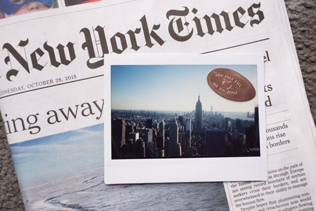 Ein Polaroid aus New York