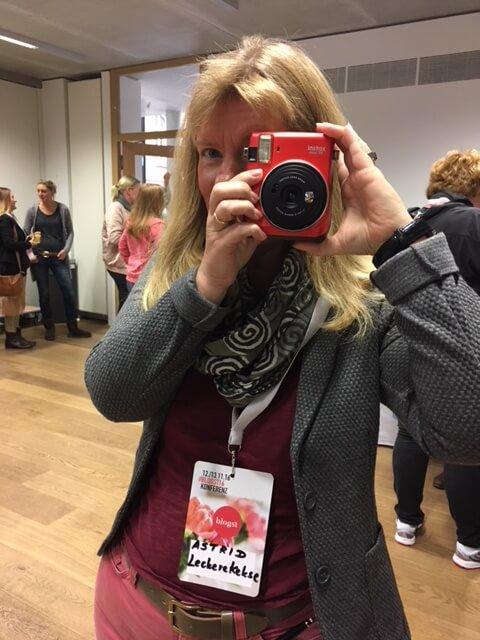 Fotografieren mit einer Instax-Mini