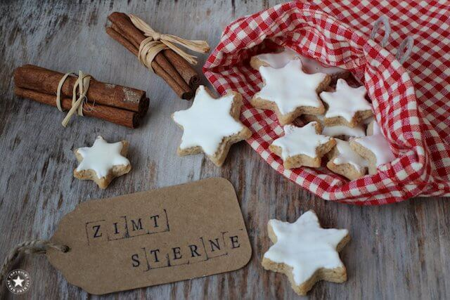 Zimtsterne - klassische Weihnachtskekse