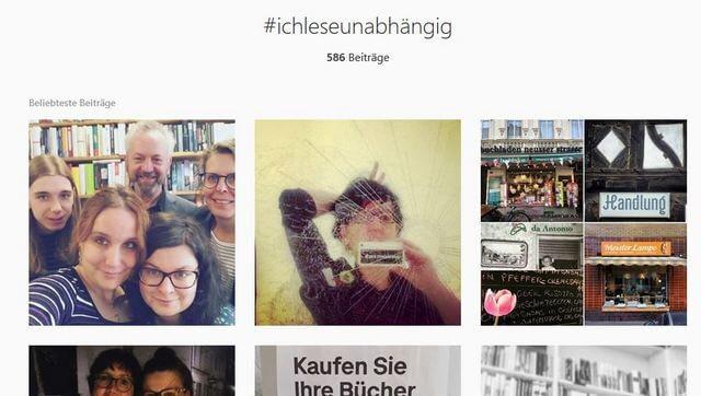 #ichleseunabhängig, Instagram-Aktion zur WuB