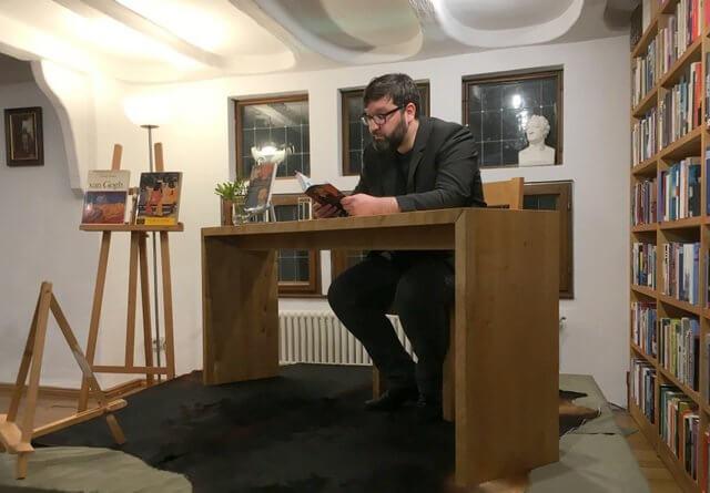 Jürgen Volk Lesung bei Remmel