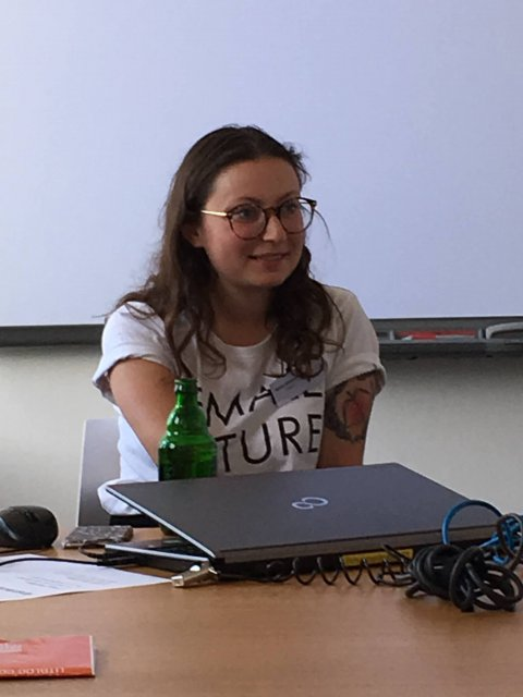 """Milena Glimbovski und ihr Buch """"Ohne Wenn und Abfall"""""""