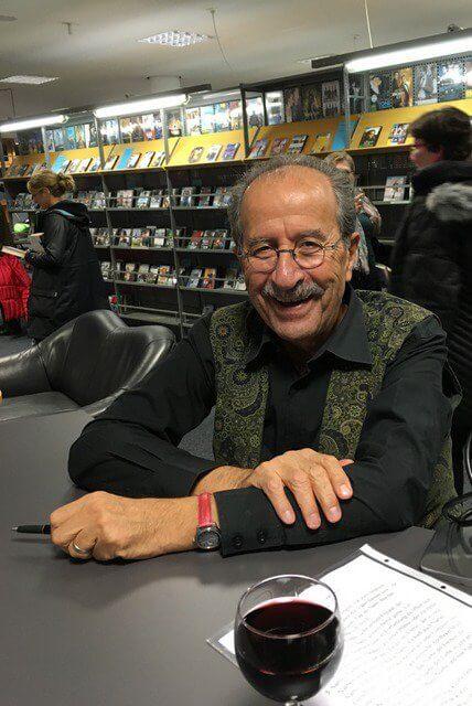 Rafik Schami bei einer Lesung